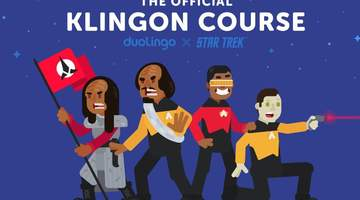 You can Now Learn Klingon via Duolingo!