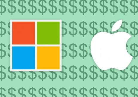 Microsoft briefly toppled Apple as the most valuable company in the world