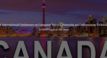 International Conference on Computer Science Networks and Information Technology