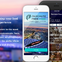 Travel iOS and Android app : PAIRCHUTE