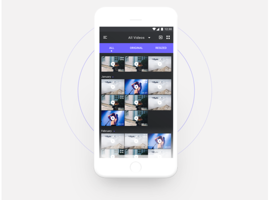 Panda Video Resizer Mobile APP