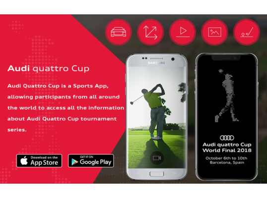 AN APP FOR ALL A.Q.C. GOLF ENTHUSIASTS!