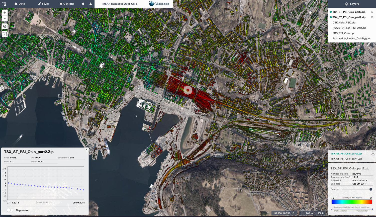 Mapic - a GIS service