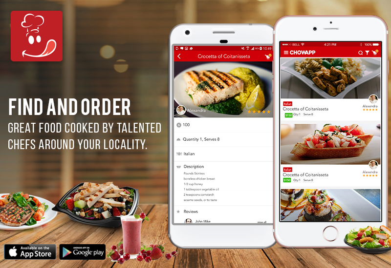 Food Ordering Application for Chefs and Foodies