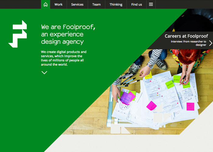 Foolproof: an experience design agency