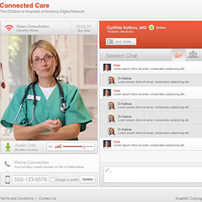 Snap.MD - Telemedicine Responsive App